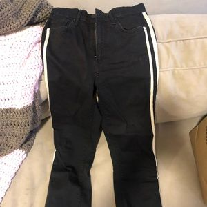 Mother racer stripe jean - size 26